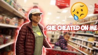 I SEEN MY EX LIGHT SKINNED SHAWTY AT TARGET * she explained why cheated on me*