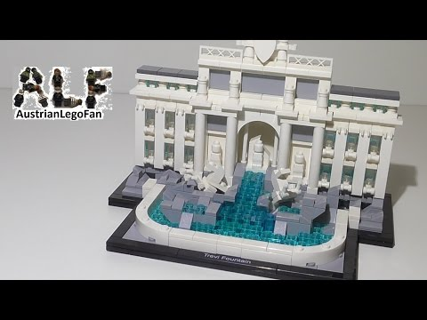 Lego Architecture 21020 Trevi Fountain / Trevi Brunnen - Lego Speed Build Review