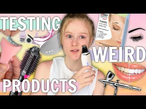 Testing Weird Beauty Products!