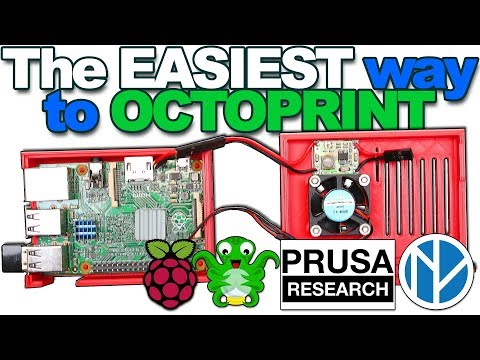 3D Printer S02 E04 - The Simplest Setup For OctoPrint On YouTube - 5 MINUTES