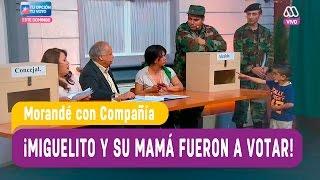 Miguelito y su mamá fueron a votar - Morandé con Compañía 2016
