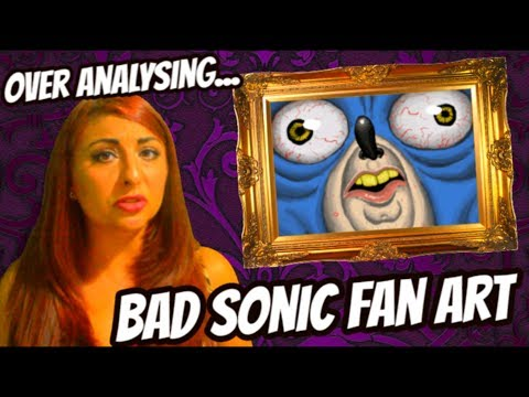 Bad Sonic Fan Art!? - A Comprehensive Over Analysis...