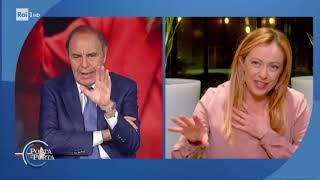 Giorgia Meloni Sui Provvedimenti Del Governo - Porta A Porta 26/03/2020