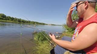 Фидерная рыбалка на оке под Серпуховым в июне 2017.Советы по рыбалке на реке Оке и не только.