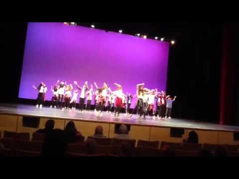 Coyote Creek Ms. Zanatta's Dance Festival 2016