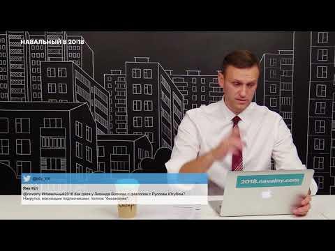 Навальный: Ютуб ничего не делает с кремлеботами!!!