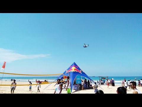 Cinnamon Air flyby at Red Bull Levels, Bentota - 2016