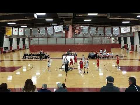 Wall Boys Basketball (58) At Red Bank Regional (44),  2/22/18