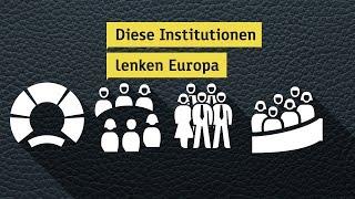 Wer lenkt was in der EU? - heuteplus | ZDF