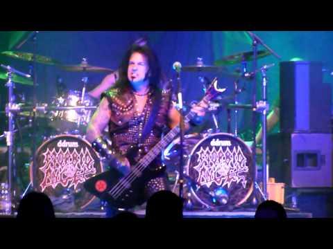 Morbid Angel - God of Emptiness + World of Shit @ Effenaar Eindhoven (Netherlands) 2012-11-04