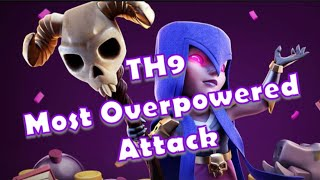 TH9: Witch Slap is the Best TH9 Attack Strategy and easiest too!