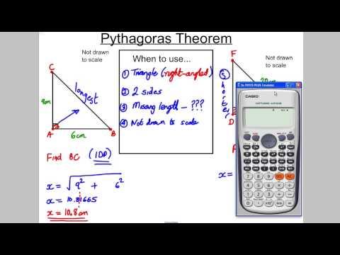 GCSE Revision Video 8 - Pythagoras
