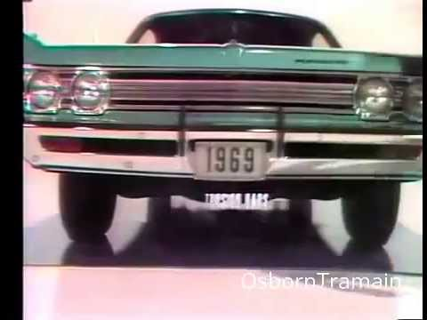 1969 Plymouth Fury Commercial with Mike Farrell