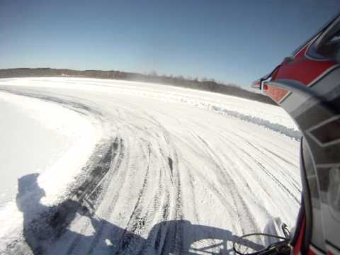 Motorcycle Ice Riding Upstate NY Saratoga County