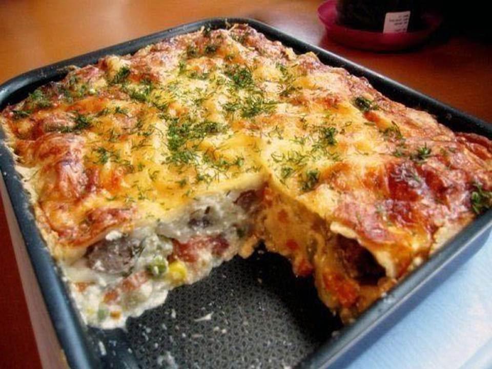 Рецепты запеканок из овощей