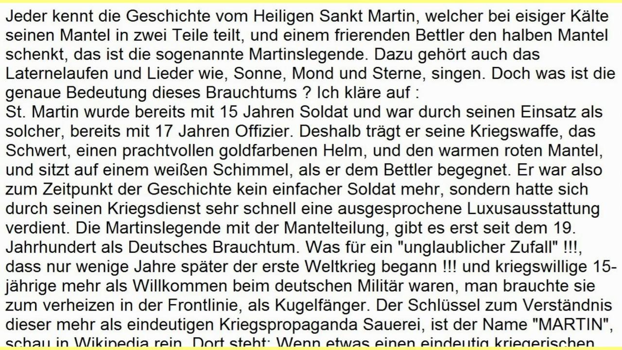 Sankt Martin Bedeutung Laterne Laufen Sonne Mond Sterne St Martinstag Martinsfest Mantelteilung Youtube