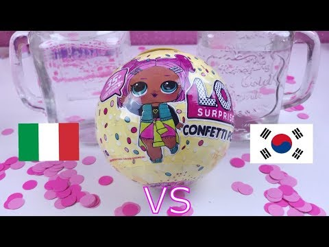 APRO 2 LOL CONFETTI POP : ITALIA vs COREA. Ma è fake? 🙈