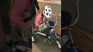Strengthening Biking Skills with Stasyia's Story - Down syndrome