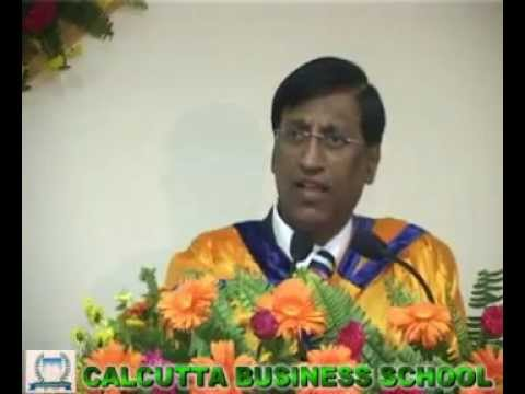 P.R. Ramesh, Chairman of Deloitte at Calcutta Business School Convocation