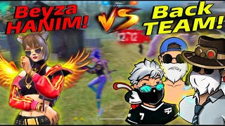 """Back"" TAKIMIYLA 1VS1 ATTIK ! 