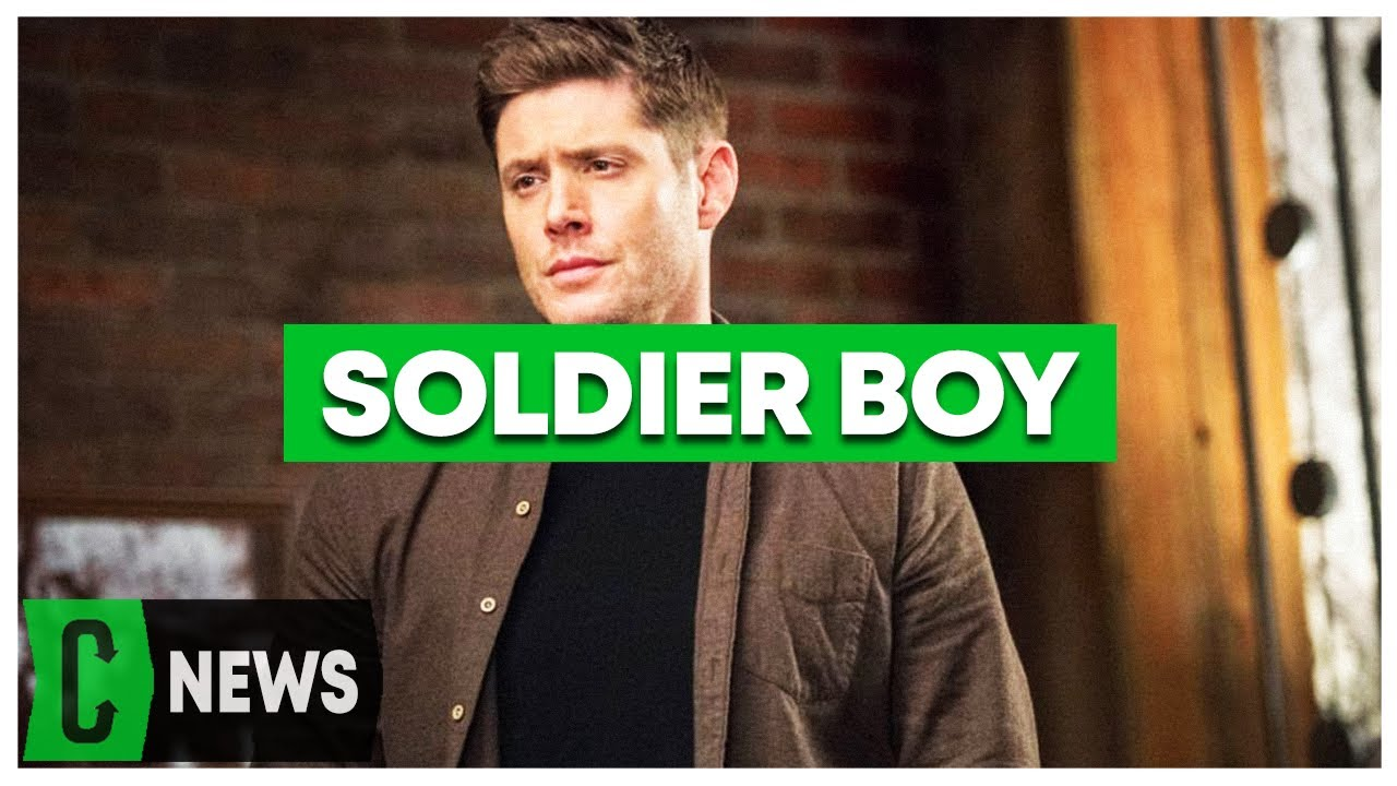 The Boys: Jensen Ackles shares first look as Soldier Boy