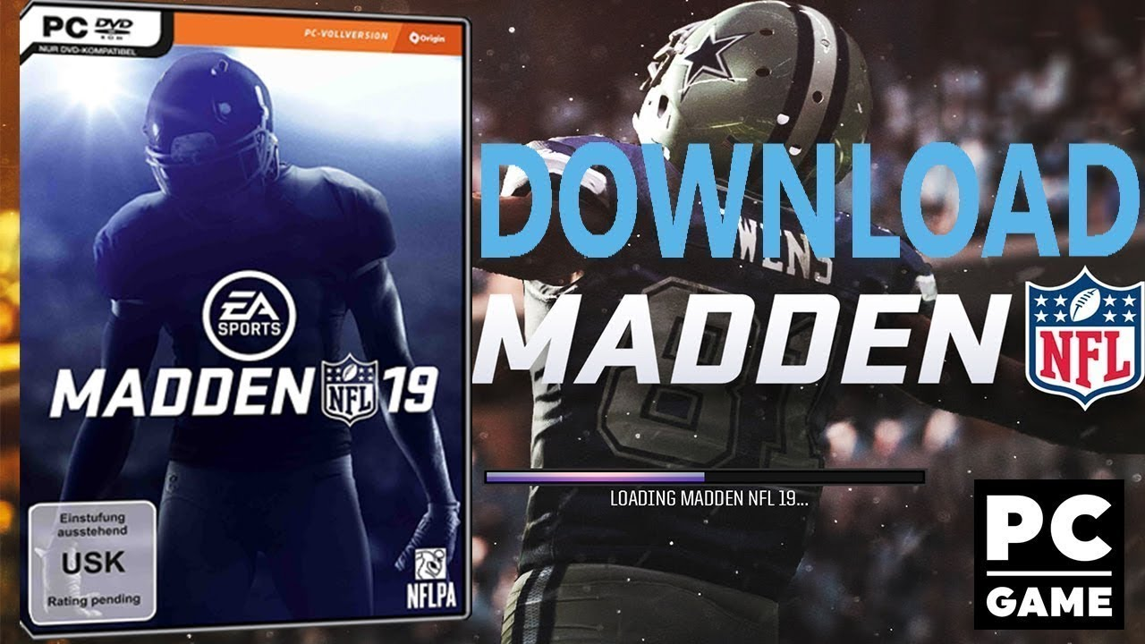 How to download madden nfl 19 for pc free youtube.