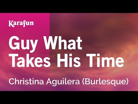 Karaoke Guy What Takes His Time - Christina Aguilera *