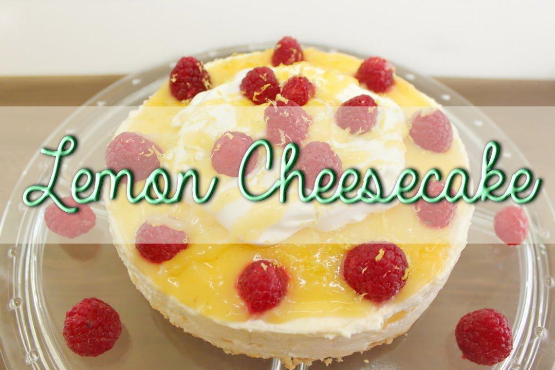 no bake lemon cheesecake k sekuchen ohne backen mit lemon curd cheesecake rezept youtube. Black Bedroom Furniture Sets. Home Design Ideas