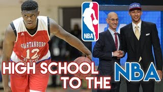 Why the NBA Needs to bring back the High School Draft Rule- Change the One and Done Rule!