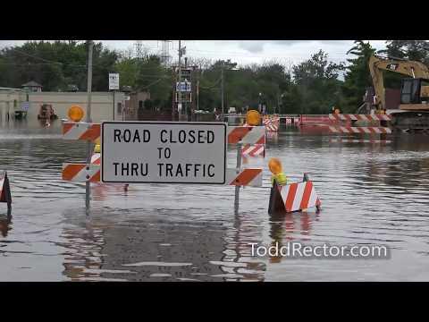 July 15, 2017 flooding in Gurnee, Illinois