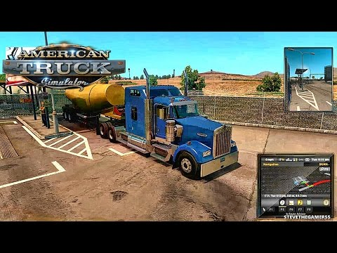 AMERICAN TRUCK SIMULATOR EP3 - NEW PROFILE - PRIMM (NV) TO CARLSBAD (CA) (ATS MODS) FERTILIZER