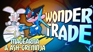 """MAGEARNA & ASH-GRENINJA!"" - Wonder Trade Friday #WTF - Pokémon Sun & Moon Livestream w/ Hydros"