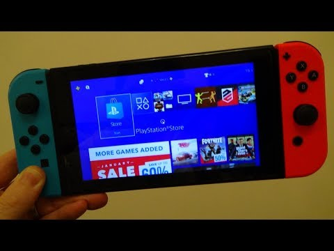 4 interesting things on the Nintendo Switch (PS4 streaming, Joy-Con music, Sega games)