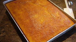 Yellow Sheet Cake by Diane Lovetobake