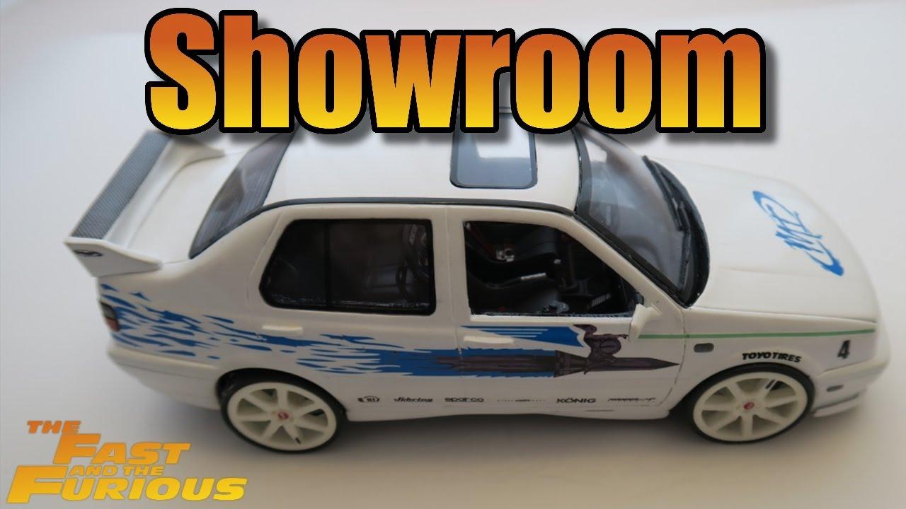 Showroom Vw Jetta Fast And Furious Modelcar Youtube