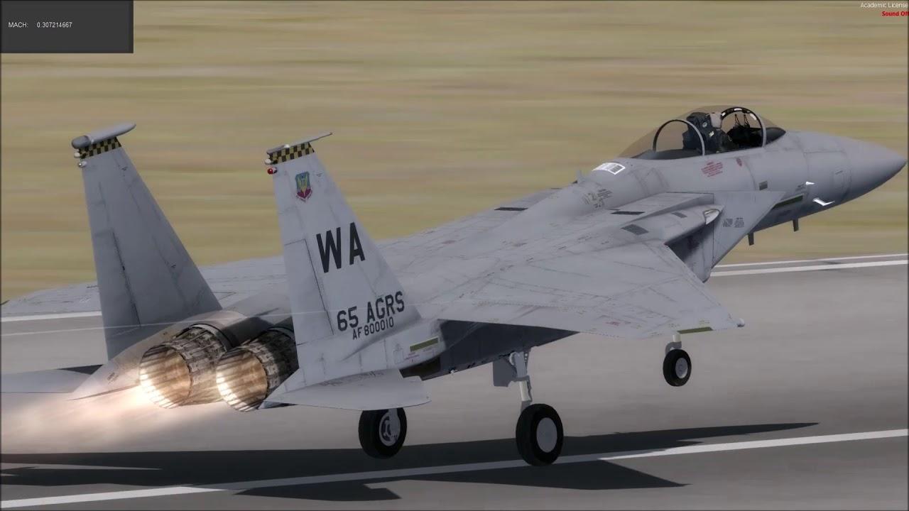 Milviz F-15C
