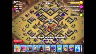 Clash of Clans Clan Wars LIVE - Total Destruction!