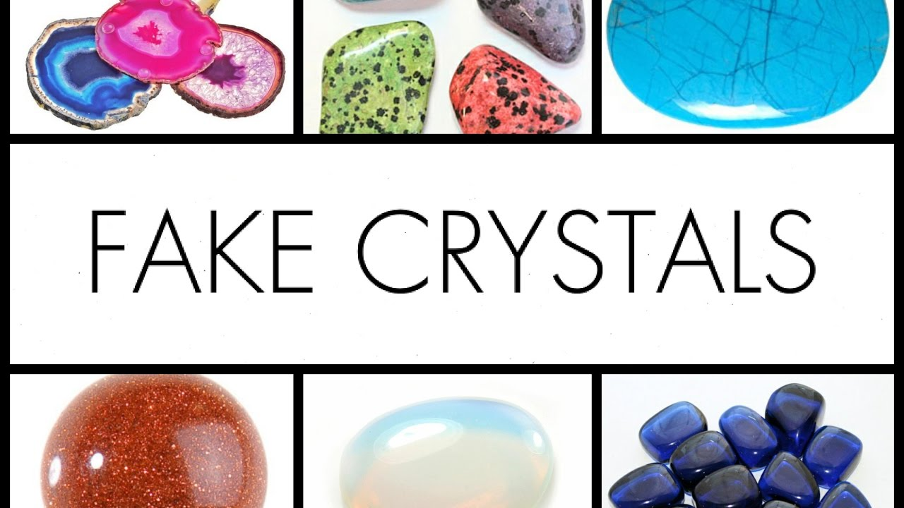 Fake Crystals Opalite Blue Howlite Goldstone And More