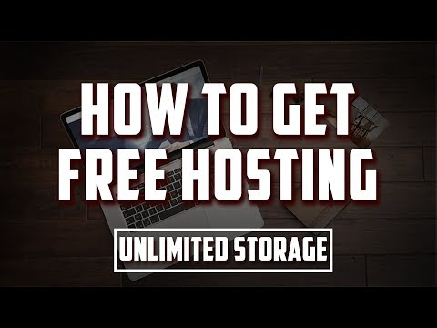 How To Get Free Hosting | Unlimited Storage And Bandwidth | 2018