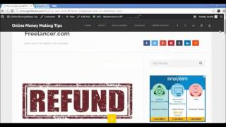 Gambar cover How to save yourself from chargeback issue on Freelancer com