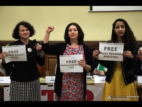 Fauzia Ilyas, Maryam Namazie and Nina Sankari demand freedom of blasphemers and apostates