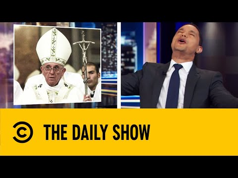 Pope Francis Reconsiders Priest Celibacy | The Daily Show With Trevor Noah