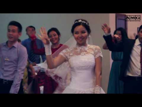 Флешмоб на свадьбе в г.Алматы