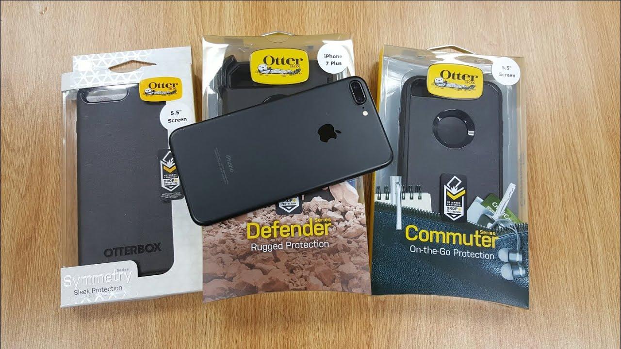 Otterbox Defender Vs Commuter >> iPhone 7 Plus - All Otterbox Series Hands on (Defender, Commuter, Symmetry) - video.phim22.com