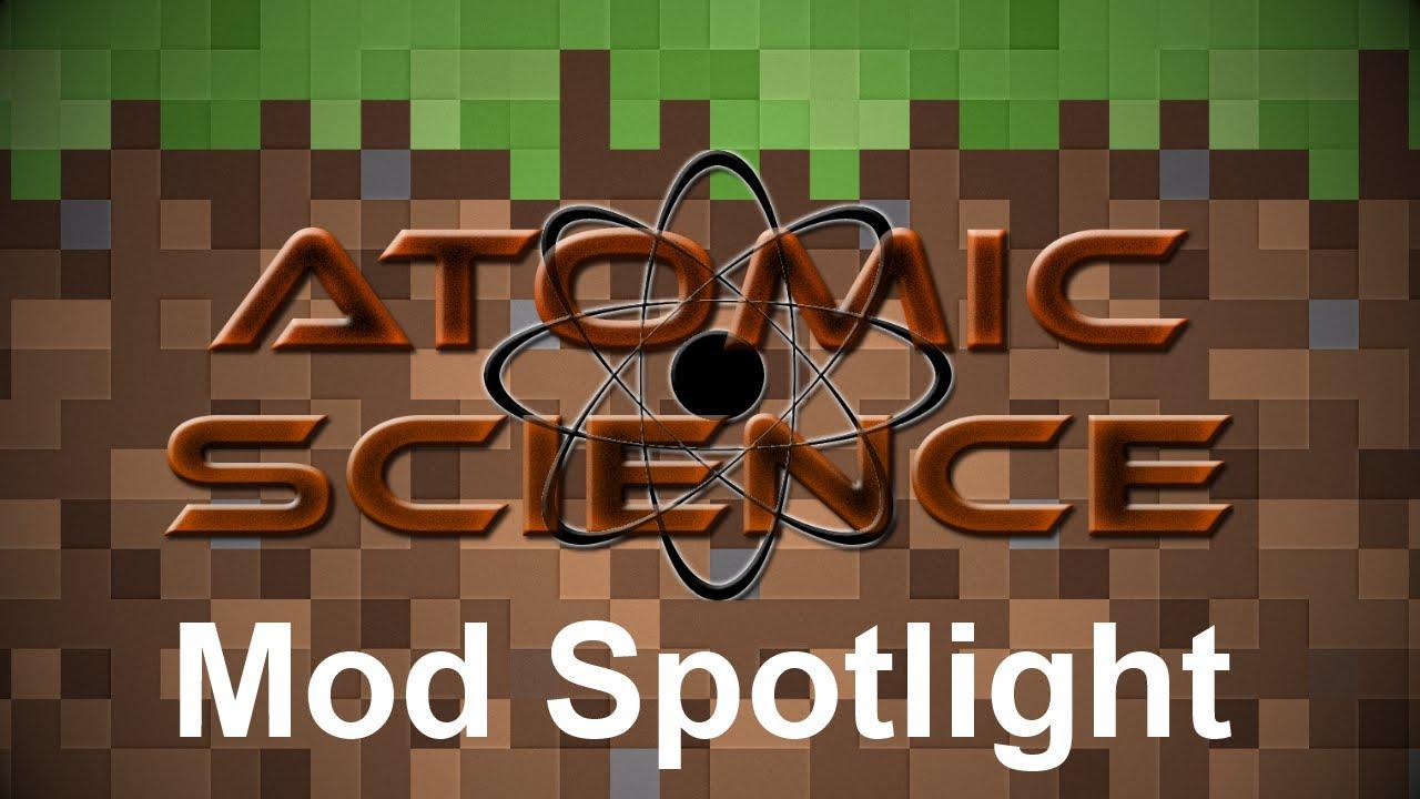 Minecraft Mod Spotlight - Atomic Science (v0.5.1.18) - YouTube