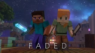 Alan Walker- Faded [Minecraft Animation]