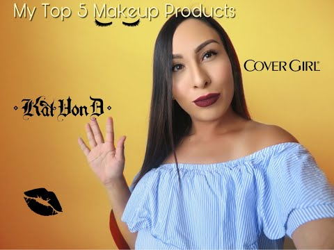 My Top 5 Makeup Products Your Videos on VIRAL CHOP VIDEOS