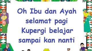 Download PERGI BELAJAR (LIRIK) - Lagu Anak - Cipt. Ibu Sud - Musik Pompi S.