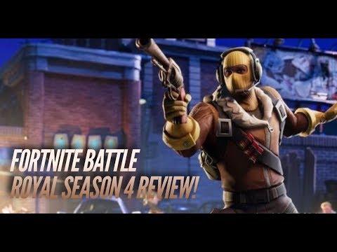 Fortnite Battle Royale Season 4 Review: Brace For Impact!