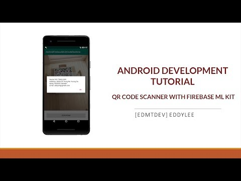 Android Development Tutorial - Read QR Code with Firebase ML in real time thumbnail